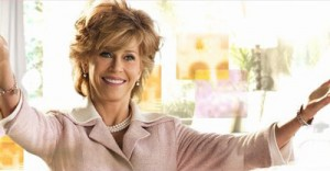 Jane Fonda - dazzling mature beauty